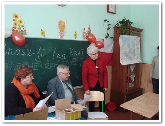"""Оплаткова зустріч в польській школі. Конкурс на тему:"""" Чи знаєш цей край""""."""