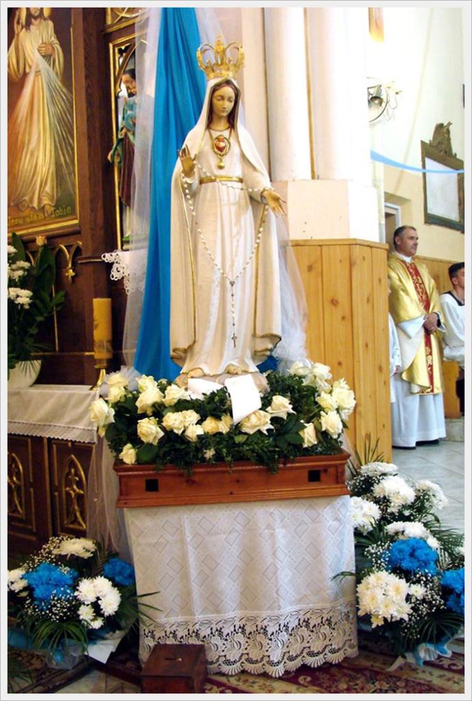 Перегринація фігури Матері Божої з Фатіми