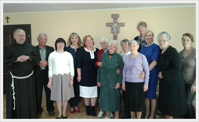 Пасхальна зустріч францисканської спільноти